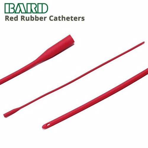 Picture of Catheter, Intermittent – Bard – Red Rubber