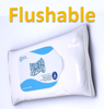 Picture of Adult Wipes – FLUSHABLE - Dynarex