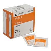Picture of Alcohol Prep Pads - Covidien, Webcol™