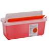 Picture of Sharps Container - Mailbox-Style Lid, 2 Qt