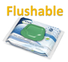 Picture of Adult Wipes – FLUSHABLE - TENA® - F