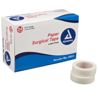 """Paper Tape - Surgical - Dynarex - 1/2"""" x 10'- TAP-3551-1"""