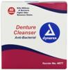 Denture Tablets - Dynarex - 40 Tablets Box - DENT-4877-2