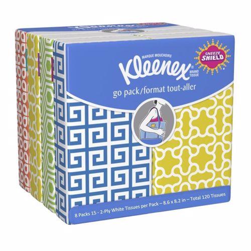 Facial Tissue - Kimberly-Clark - Pocket Pack - 15 - Per Pkg - FT-30210-1
