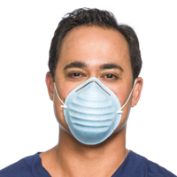Face Mask, Molded Cone, Cardinal Health - FMAT7509 - 3