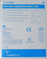 Face Mask, Molded Cone, Cardinal Health - FMAT7509 - 2