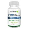 ReThink CBD Sleep Support GelCaps - 750 mg - 30 Count - Bottle