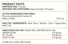ReThink CBD Hemp Spray for Pets - 100 mg - 30 ml - Label