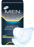 TENA - Guards for Men - 50600 - Packaging With Product