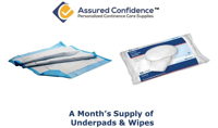 Assured Confidence - Underpad - Month's Supply